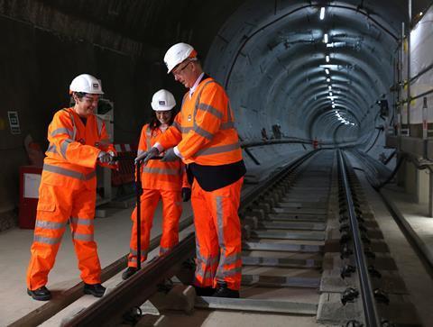 Elizabeth line permanent track installation is complete 281243