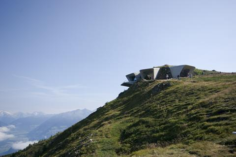 Zaha: Messner Mountain Museum