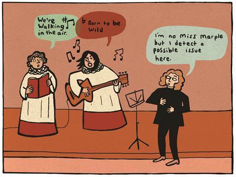 Tony Bingham cartoon