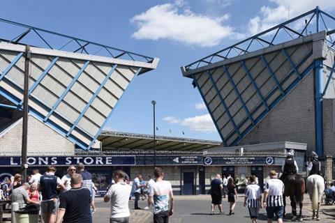 Millwall FC's ground, the New Den