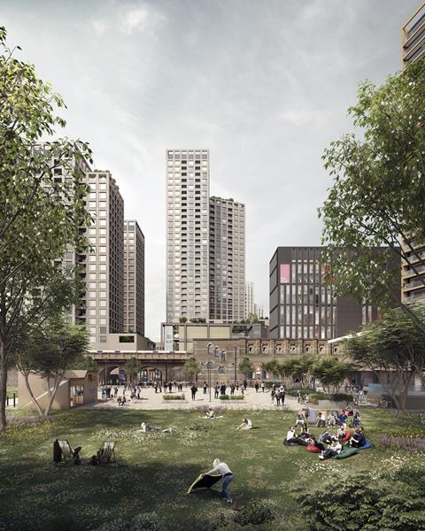 Allies & Morrison's proposals to replace Elephant & Castle Shopping Centre