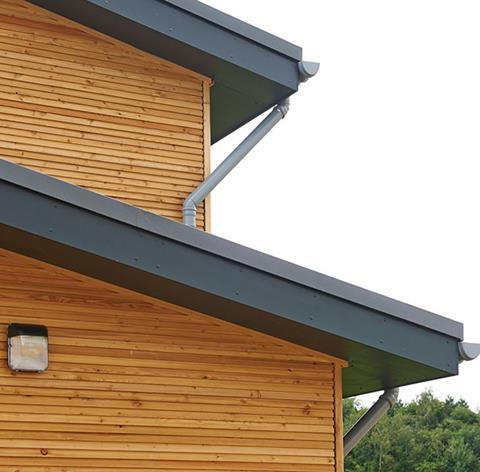 Example of Medite Tricoya Extreme used for fascias and soffits, and cladding on residential projects