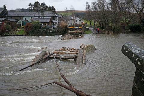 Flooding has repeatedly hit Cumbria