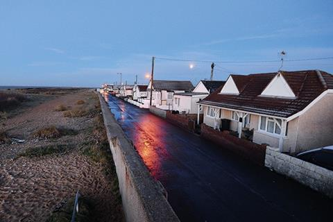 Jaywick in Essex was evacuated last month after a storm surge
