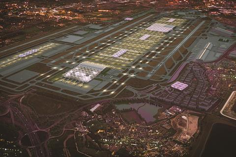 Grimshaw's aerial view of Heathrow