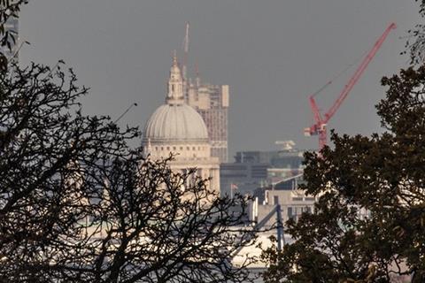 St. Paul's Richmond view