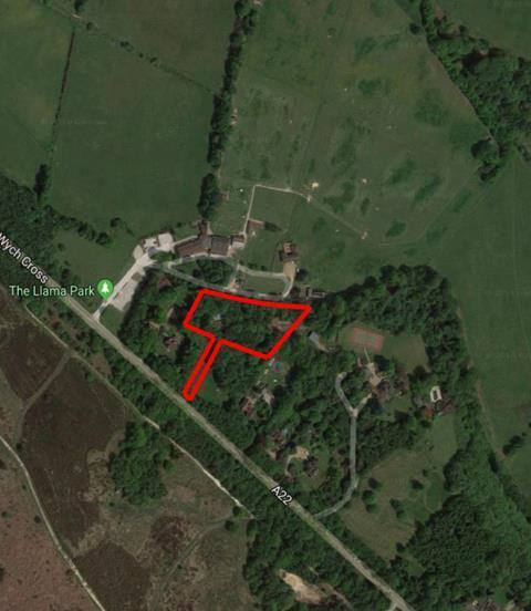 Konta home aerial view