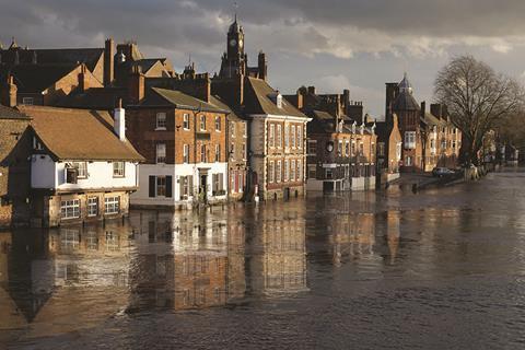 Flood in York 2015