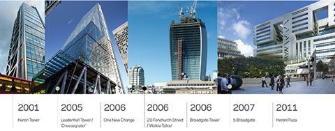 Peter Rees city timeline 2