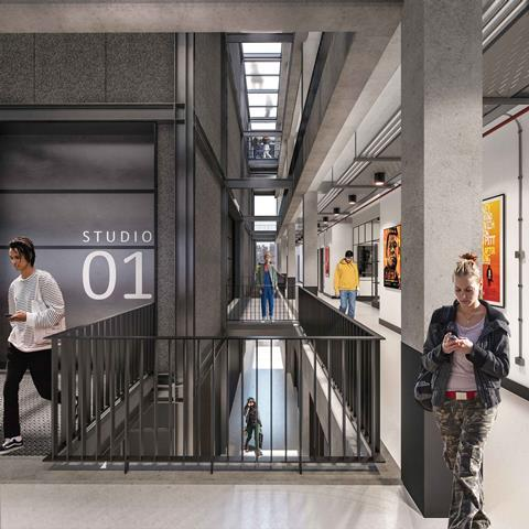 Projects: London Screen Academy, Islington, London | Features | Building