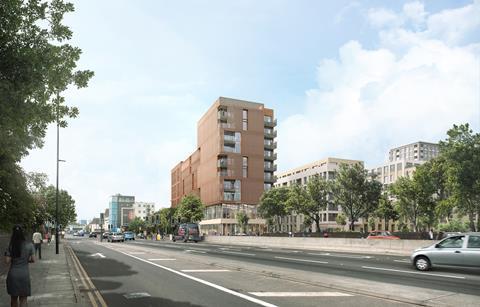Stockwool Architects' Ailsa Wharf development  in east London
