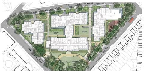 Grid proposals for london chest hospital plan
