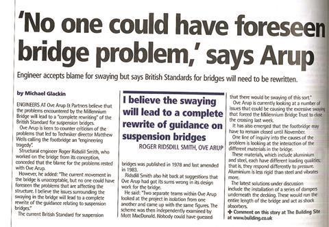 Archive Millennium Bridge