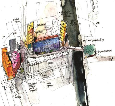 8 albert embankment sketch ©pilbrow&partners 1