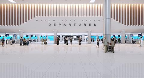 Manchester Airport Terminal 2 new 2017
