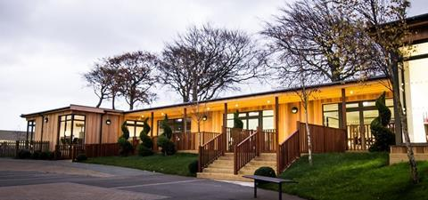 Multi Classroom Block at Shotton Hall Academy by TG Escapes