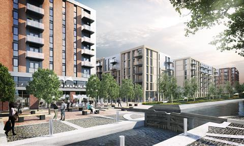 Phase one Middlewood Locks Salford
