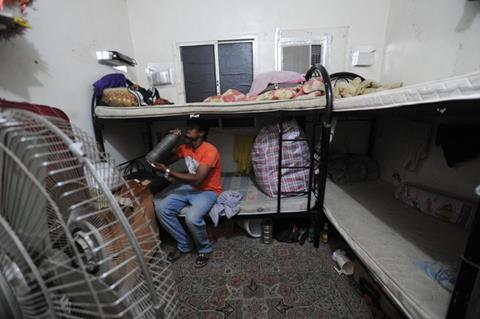 Migrant workers labour camp - Qatar
