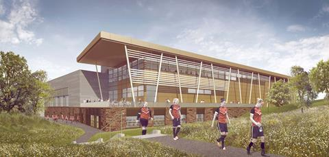 Warwick sports facility cgi 2