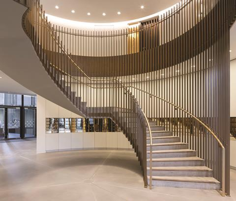 Gasholders london central staircase architecture by wilkinson eyre @peter landers