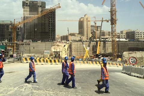 Qatar workers