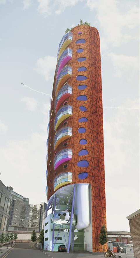 Heliport Heights by Will Alsop's aLL Design practice