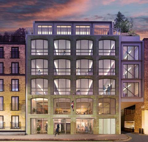 Allies & Morrison's proposals to redevelop 9-11 Richmond Buildings in London's Soho