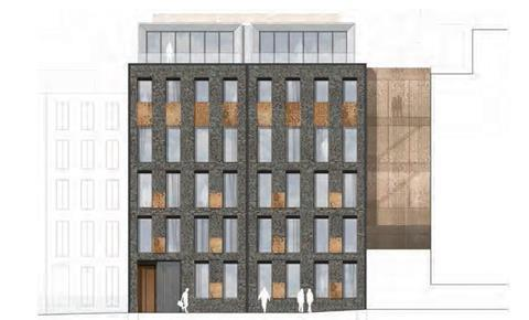 Scott Brownrigg's proposals to substantially redevelop 9-11 Richmond Buildings in Soho, which won planning approval from Westminster City Council in February