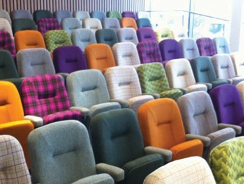 Coloured seating