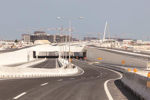 Qatar roads Doha