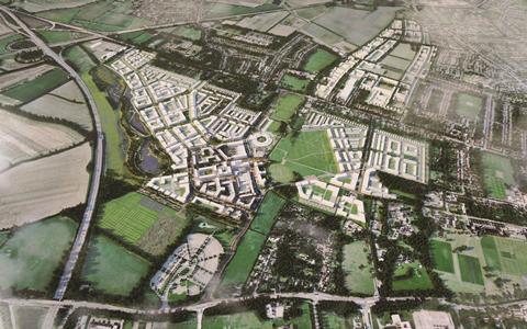 North West Cambridge Development masterplan