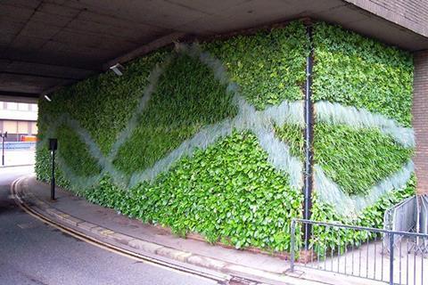 Blackfriars Mermaid Living Wall
