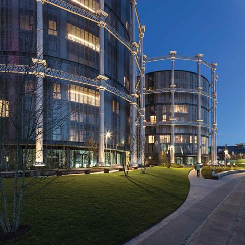 Exterior of gasholders london adjacent to the regent's canal architecture by wilkinson eyre @peter landers v2 copy