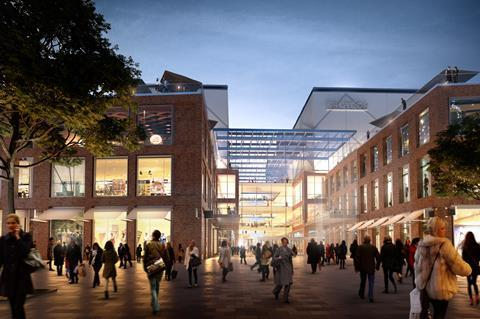 Hammerson and westfield croydon plans north end