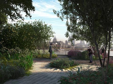 Heatherwick Studio and Arup's garden bridge