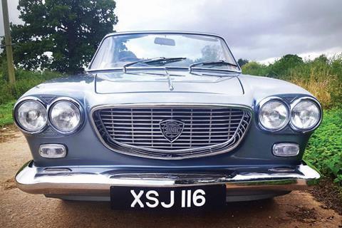 1963 lancia flavia vignale convertible front