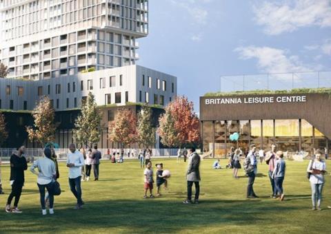 Britannia Leisure Centre concept design