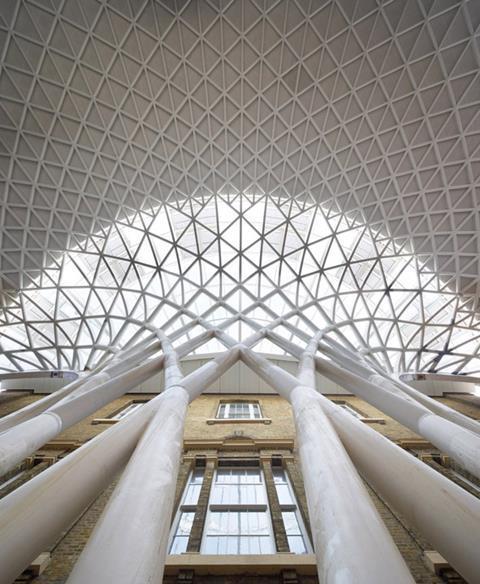 King's Cross station designed by John McAslan + Partners