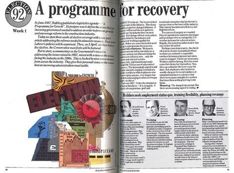 A programme for recovery