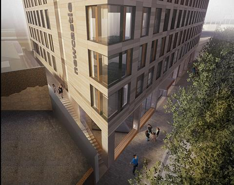 Student accommodation at Science Central in Newcastle by TP Bennett and Nixon Property