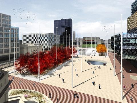 Centenary Square Birmingham