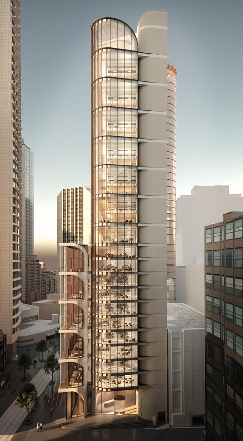 Grimshaw's George Street project in Sydney