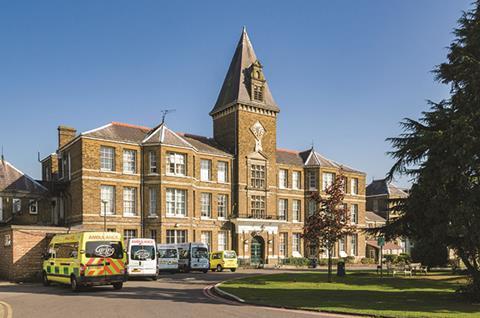 Chase Farm hospital