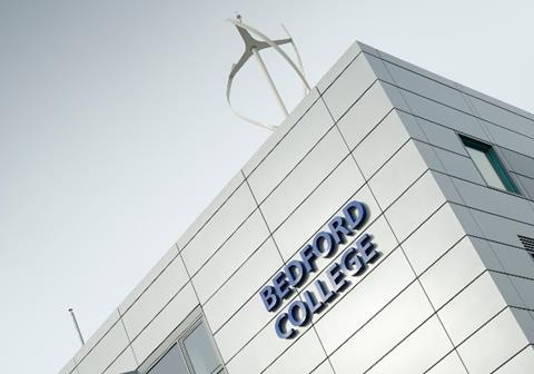 Bedford college crop