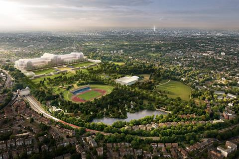 Crystal Palace revamp by ZhongRong Group