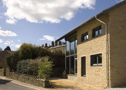 The Denby Dale PassivHaus in West Yorkshire had to use 90% less energy for space heating than the average UK dwelling. Solutions including glass mineral wool cavity wall insulation helped to reduce annual space heating requirements to only 15kWh/m2