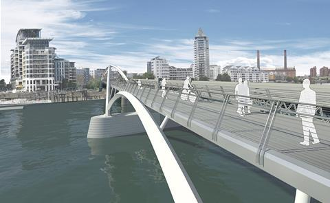 One World Design Architects' Thames footbridge