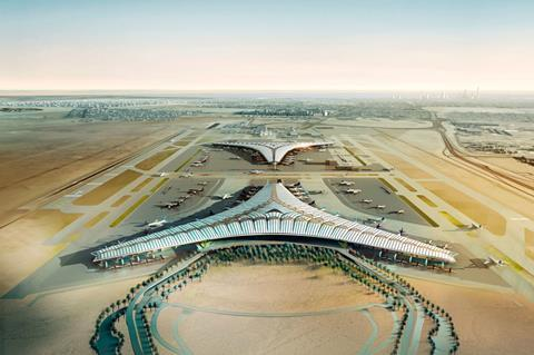 Design for Kuwait International Airport by Foster + Partners