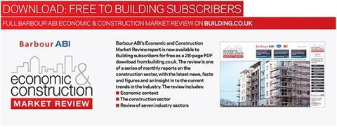 Click here for the full Economic &Construction Market Review;