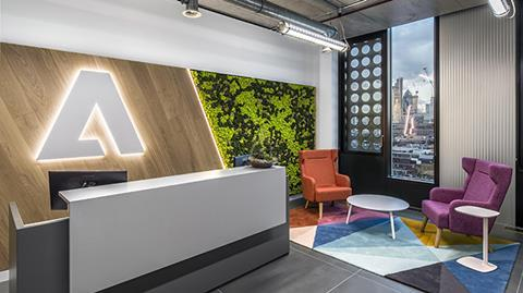 Adobe White Collar Factory office fit out
